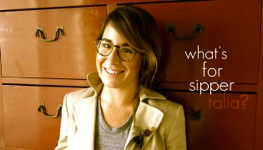 Thumbnail image for What's for Sipper, Talia Baiocchi?